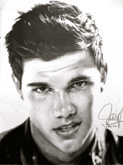 Taylor Lautner par ScorpionDraws